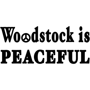 New York Old School Woodstock is Peaceful