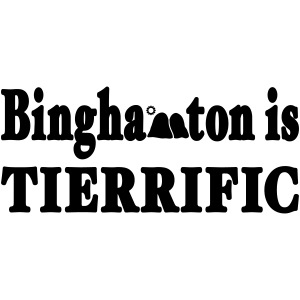 New York Old School Binghamton is Tierrific Shirt