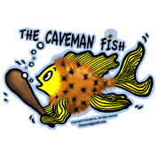 Caveman Fish, By FabSpark