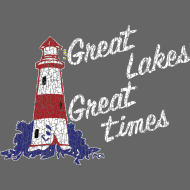 Design ~ Vintage Great Lakes Great Times Lighthouse