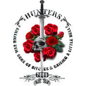 New Hunters Skull Dragon Sword black