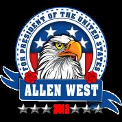 Allen West for president Eagle Head