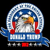 Donald Trump for president 2012 Eagle Head