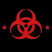"ZORT Generic 2-Color Zombie 6.8""x"