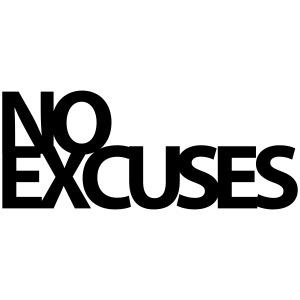 No Excuses Gym Motivation