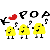 love kpop cute_yellow_bird_sing2a_vec3