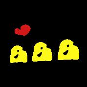 love kpop cute_yellow_bird_sing2a_vec3