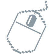 geek digital computer mouse