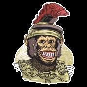 Funny Caesar Chimp