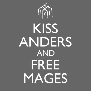 """Kiss Anders and Free Mages"" Design"