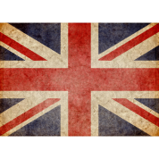 Faded UK Flag