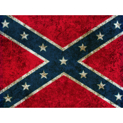 Grunge Confederate Flag