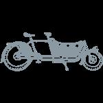 Bicycle Family Cargo Bike Long John Style