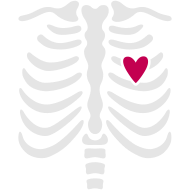 Design ~ Skeleton Ribcage for Halloween Maternity