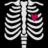 Design ~ Skeleton Ribcage for Halloween Maternity