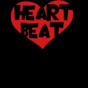 Heart Beat Heart Spiral cable jack Beats Headphones Headphones