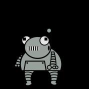 Kid Robot Exhaust - Robot T-Shirt