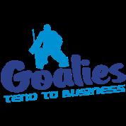 Hockey Goalies Tend To Business
