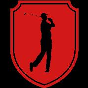 golfer emblem