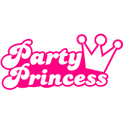 party princess with cute crown