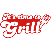 it's time to grill with bbq fork
