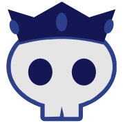 prince crown skull skully