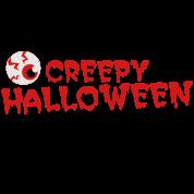 creepy halloween costume with Eyeball!