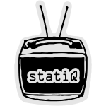 statiQ TV head large [vector]