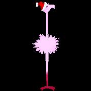 Pink Christmas Flamingo 2