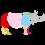 rhino rhinoceros africa horn horny wild animal