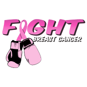 Fight Breast Cancer Pink Boxing Gloves