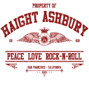 PROPERTY OF HAIGHT ASHBURY