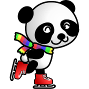 [Image: Cute-Skating-Kawaii-Cartoon-Panda-Bear-with-Stripe.png]
