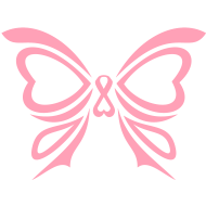 Design ~ Pink Ribbon Butterfly Breast Cancer