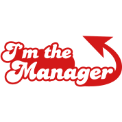 I'm the manager with arrow