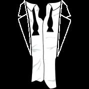 Disheveled Tuxedo Shirt