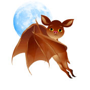 Sweet Halloween Bat