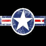 Vintage Army Air Corps Patriotic Star
