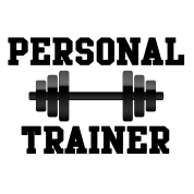 Personal Trainer, Black Weights Dumbell Fitness