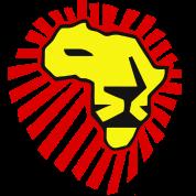 Waka Waka Yellow Lion / Red Mane T-Shirt
