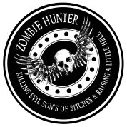 Zombie Hunter Ring Patch Revised