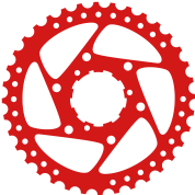 angled bike gear