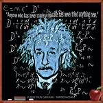 Theory of Relativity T-Shirt Design by Colin Carr-Nall © 2011 COLIN CARR-NALL  ARTBYCOL.COM