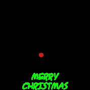 christmas x-mas merry reindeer deer rudolph red nose antlers buck heart