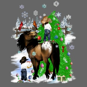 A Horse and Kid Christmas
