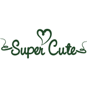 SUPER CUTE with swirls and curls and a heart