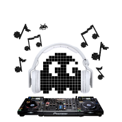 8-Bit Ghost DJ