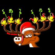 Birds' and Deer's Christmas Concert