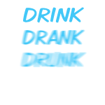 drink_drank_drunk_blue