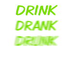 drink_drank_drunk_green